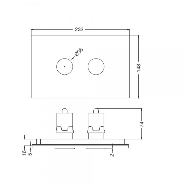 Cilica Pneumatic Control Plate