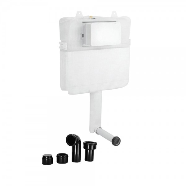 Pneumatic Single Piece Slim In-wall Cistern Body
