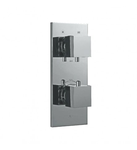 In-Wall thermostatic Shower Valve With 4-Way Divertor